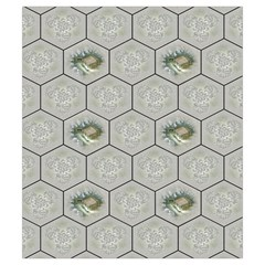 Castles Of Burgundy   Gray Tiles By Philipp Wolter   Drawstring Pouch (small)   Et64lc8shofk   Www Artscow Com Back