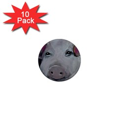 Piggy No  1 1  Mini Magnet (10 Pack)  by timelessartoncanvas