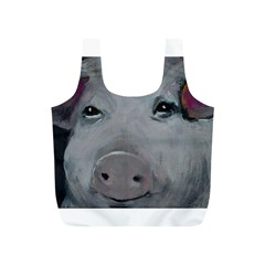 Piggy No  1 Full Print Recycle Bags (s)  by timelessartoncanvas