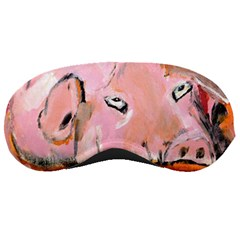 Piggy No.3 Sleeping Masks by timelessartoncanvas
