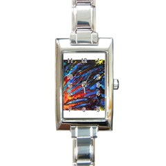 The Looking Glas Rectangle Italian Charm Watches