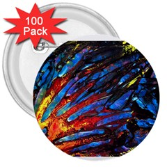 The Looking Glas 3  Buttons (100 Pack)