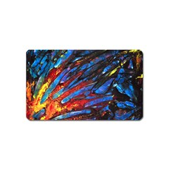 The Looking Glas Magnet (name Card) by timelessartoncanvas