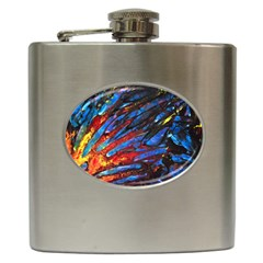 The Looking Glas Hip Flask (6 Oz) by timelessartoncanvas