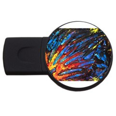 The Looking Glas Usb Flash Drive Round (2 Gb)  by timelessartoncanvas