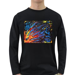 The Looking Glas Long Sleeve Dark T Shirts