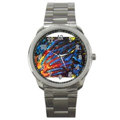The Looking Glas Sport Metal Watches by timelessartoncanvas