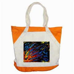 The Looking Glas Accent Tote Bag  by timelessartoncanvas