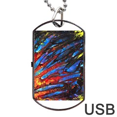 The Looking Glas Dog Tag Usb Flash (two Sides)