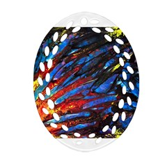 The Looking Glas Ornament (oval Filigree)