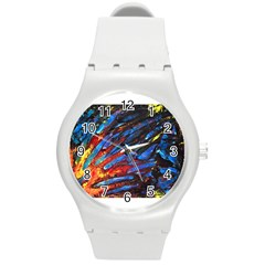 The Looking Glas Round Plastic Sport Watch (m)