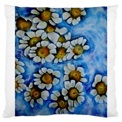 Floating On Air Large Cushion Cases (two Sides)  by timelessartoncanvas