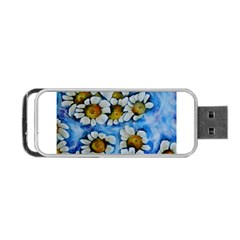 Floating On Air Portable Usb Flash (two Sides) by timelessartoncanvas