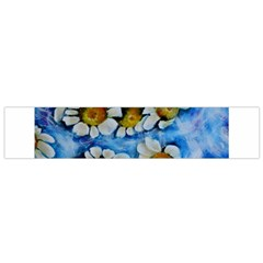 Floating On Air Flano Scarf (small)  by timelessartoncanvas