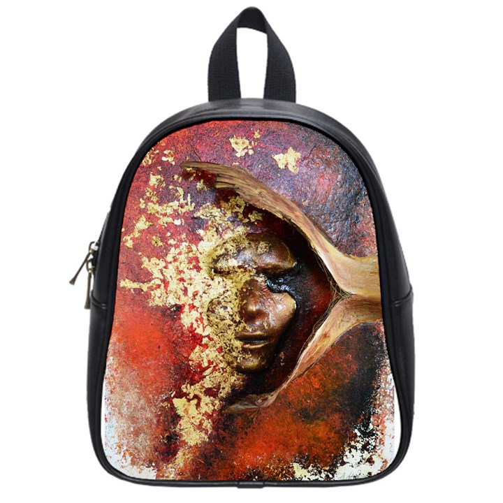 Red Mask School Bags (Small)
