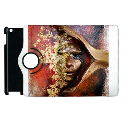 Red Mask Apple Ipad 3/4 Flip 360 Case by timelessartoncanvas