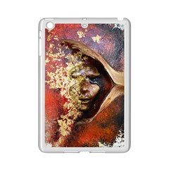 Red Mask Ipad Mini 2 Enamel Coated Cases by timelessartoncanvas