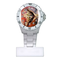 Red Mask Nurses Watches by timelessartoncanvas