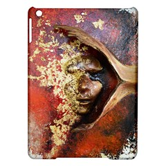 Red Mask Ipad Air Hardshell Cases by timelessartoncanvas