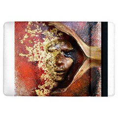 Red Mask Ipad Air Flip by timelessartoncanvas