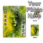 Green Mask Playing Cards 54 Designs  Front - Joker1