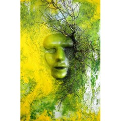 Green Mask 5 5  X 8 5  Notebooks by timelessartoncanvas