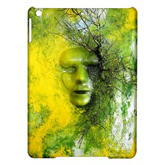 Green Mask Ipad Air Hardshell Cases by timelessartoncanvas