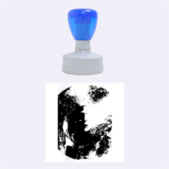 Blue Mask Rubber Round Stamps (medium)