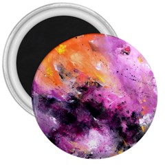 Nebula 3  Magnets by timelessartoncanvas