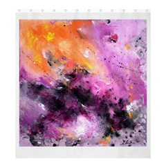 Nebula Shower Curtain 66  X 72  (large)