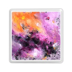 Nebula Memory Card Reader (square)  by timelessartoncanvas
