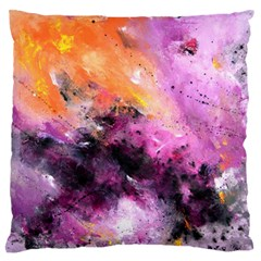 Nebula Large Flano Cushion Cases (one Side)  by timelessartoncanvas