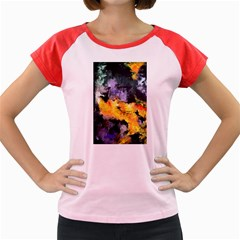 Space Odessy Women s Cap Sleeve T Shirt by timelessartoncanvas