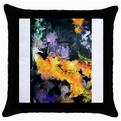 Space Odessy Throw Pillow Cases (black) by timelessartoncanvas