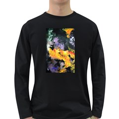 Space Odessy Long Sleeve Dark T Shirts by timelessartoncanvas