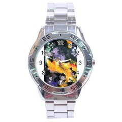 Space Odessy Stainless Steel Men s Watch by timelessartoncanvas