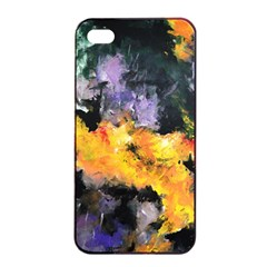 Space Odessy Apple Iphone 4/4s Seamless Case (black) by timelessartoncanvas