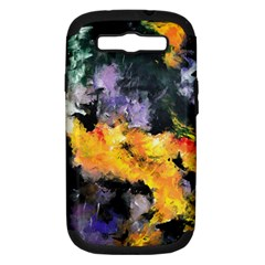 Space Odessy Samsung Galaxy S Iii Hardshell Case (pc+silicone) by timelessartoncanvas