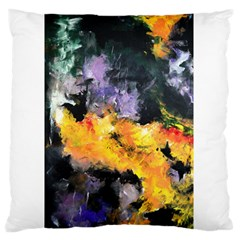 Space Odessy Large Flano Cushion Cases (two Sides)  by timelessartoncanvas