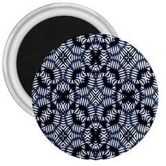 Futuristic Geometric Print  3  Magnets by dflcprints