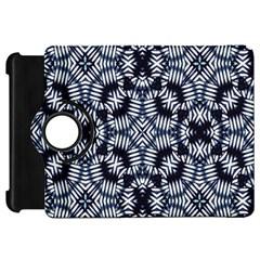 Futuristic Geometric Print  Kindle Fire Hd Flip 360 Case by dflcprints