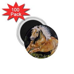Mustang 1 75  Magnets (100 Pack)  by timelessartoncanvas