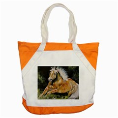 Mustang Accent Tote Bag  by timelessartoncanvas