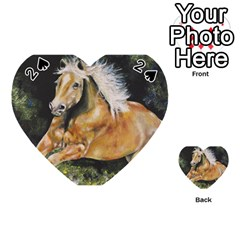 Mustang Playing Cards 54 (Heart)
