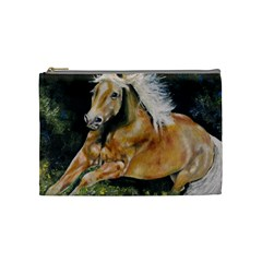 Mustang Cosmetic Bag (medium)  by timelessartoncanvas