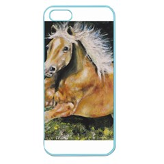 Mustang Apple Seamless Iphone 5 Case (color) by timelessartoncanvas