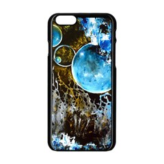 Space Horses Apple Iphone 6 Black Enamel Case by timelessartoncanvas