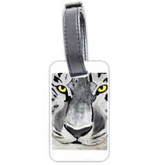 The Eye Of The Tiger Luggage Tags (two Sides) by timelessartoncanvas