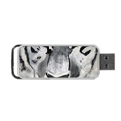 The Eye Of The Tiger Portable Usb Flash (one Side)