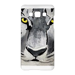 The Eye Of The Tiger Samsung Galaxy A5 Hardshell Case  by timelessartoncanvas